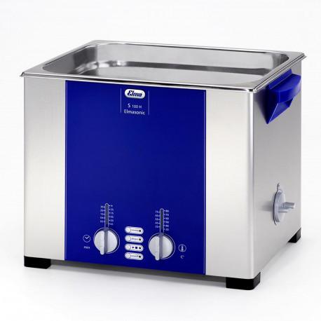 Bac Ultrason ELMA 9,5L Cuve de nettoyage industriel Elmasonic S 100 / H