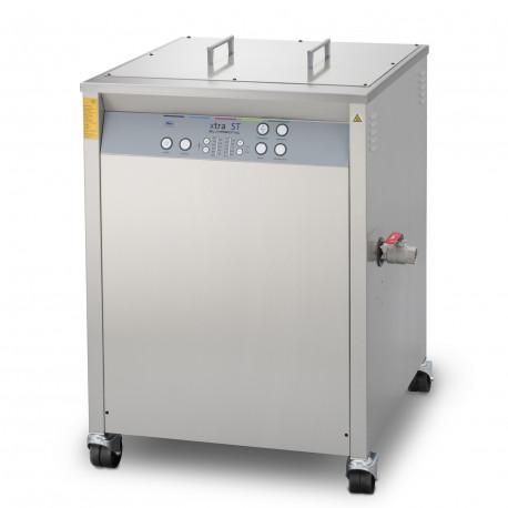 Bac à ultrasons 126L de production avec couvercle