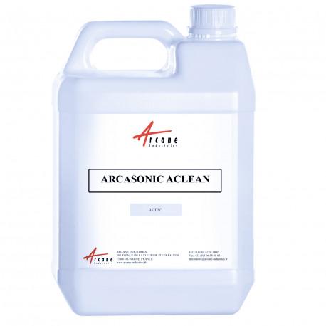 Détergent Acide pour nettoyage aluminium ARCASONIC ACLEAN Bidon 5L