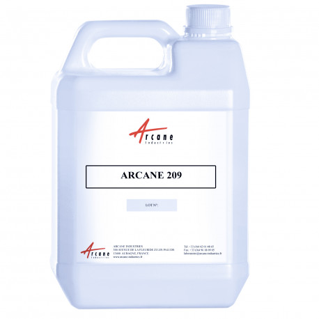 Solvant Diluant Nettoyant Spécial Imprimerie Offset Bidon 5L ARCANE 209