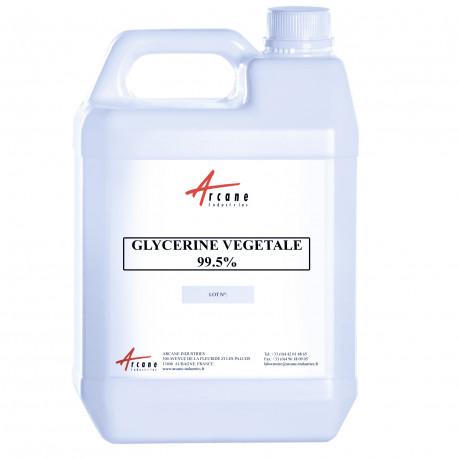 Glycérine Végétale 99.5% Bidon 5L