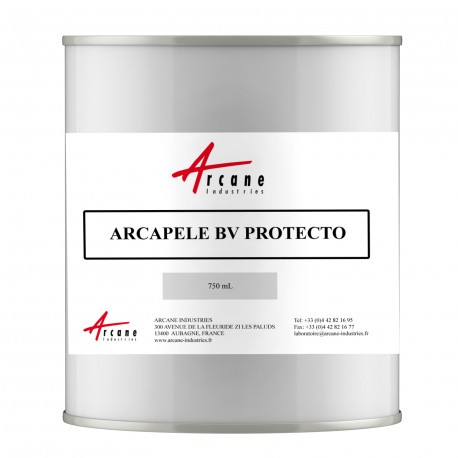 Vernis pelable de protection temporaire anticorrosion basse viscosité Pot 750mL Arcapele BV Protect'o